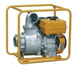 Бензиновая мотопомпа для загрязненных вод - PTX401